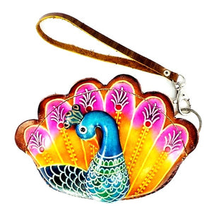 Peacock Novelty Wristlet (E575)