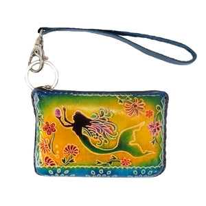 Mermaid-Small Novelty Wristlet