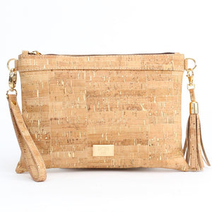 Medlyn Cork Convertible Clutch