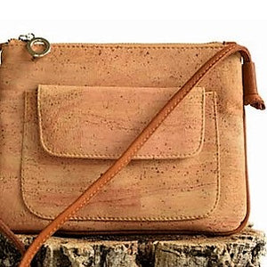 Cork Messenger Bag