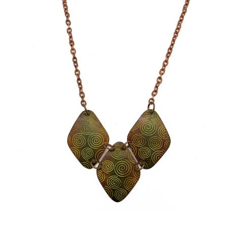 Copper Patina Necklace (NP280)