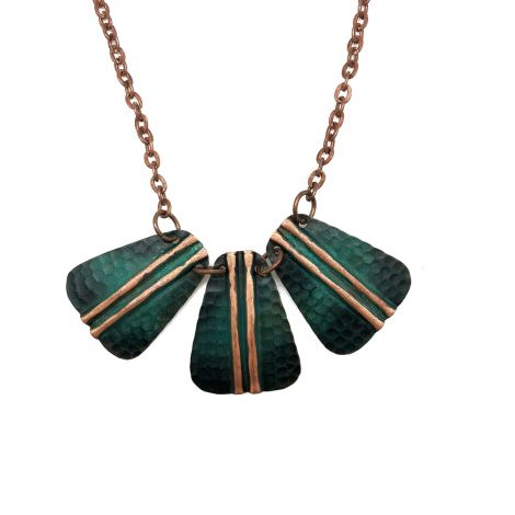 Copper Patina Necklace (NP287)