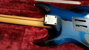 Ibanez JS1000 Burnt Transparent Blue