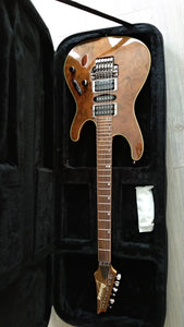Ibanez S Premium S970W Claro Walnut Top OHSC Natural