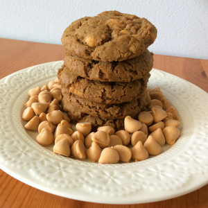 Gingerbread Butterscotch Cookies