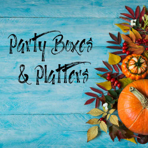 Thanksgiving Party Boxes & Platters