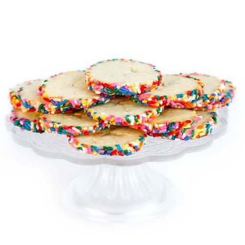 Rainbow Butter Cookies