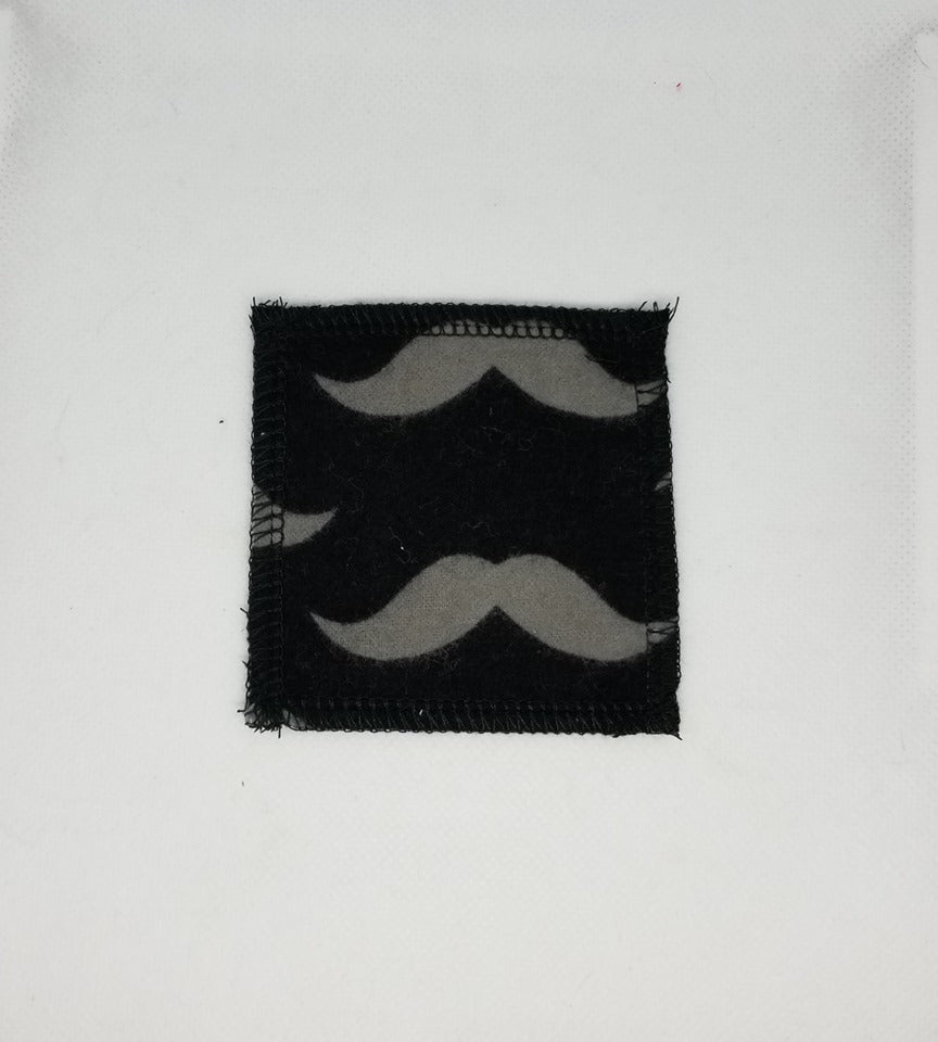 Tampons Démaquillants Flanelle - Moustaches