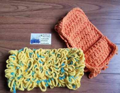 Couvre Vadrouille 'Swiffer Sweeper' & Scrubby - Jaune