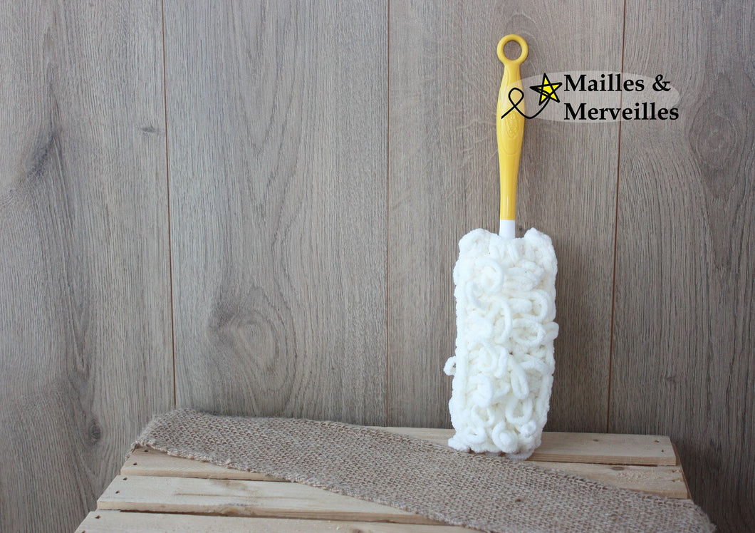Recharge Plumeau 'Swiffer Duster' MINI – Blanc