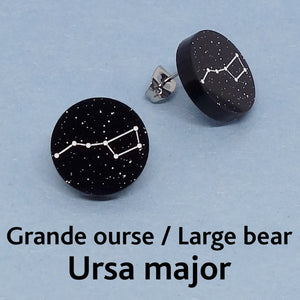 Boucle d'Oreille - Constellation Grande Ourse