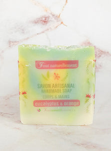 Savon Artisanal - Eucalyptus & Orange