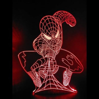 Lampe/Veilleuse au DEL - ''Spiderman''