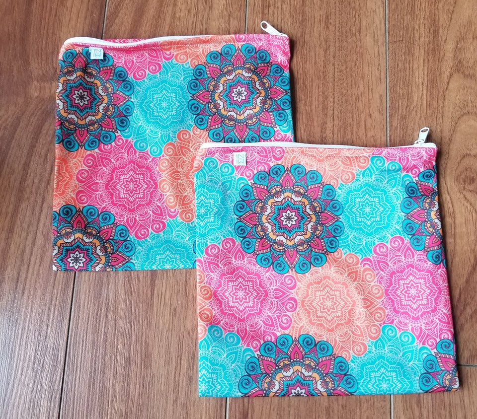 Sac Collation Réutilisable - Mandalas