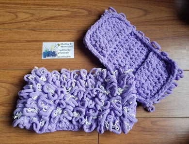 Couvre Vadrouille 'Swiffer Sweeper' & Scrubby - Lilas