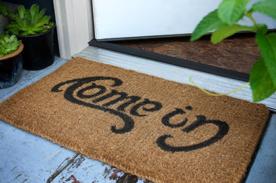 Let's have some fun with doormats