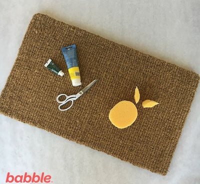 DIY Doormats with Canada Mats