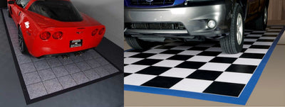 Give your Garage Floor A Break – With Floor Mats!