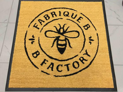 Custom Logo Coir Doormats from Canada Mats