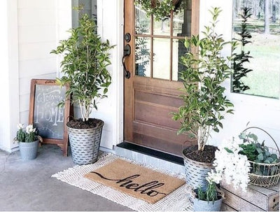 Hot Trend Alert - Layered Doormats!