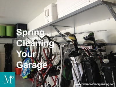 Clean Out The Garage – Spring Cleaning Tips & Tricks!
