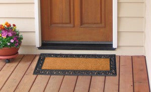Filigree Recycled Rubber Doormat