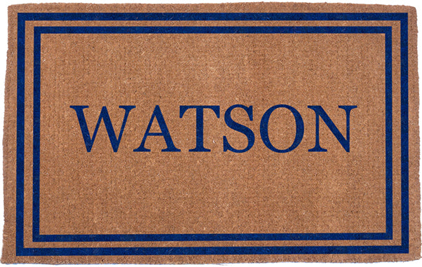 DoubleBorder-BLUE-Personalized