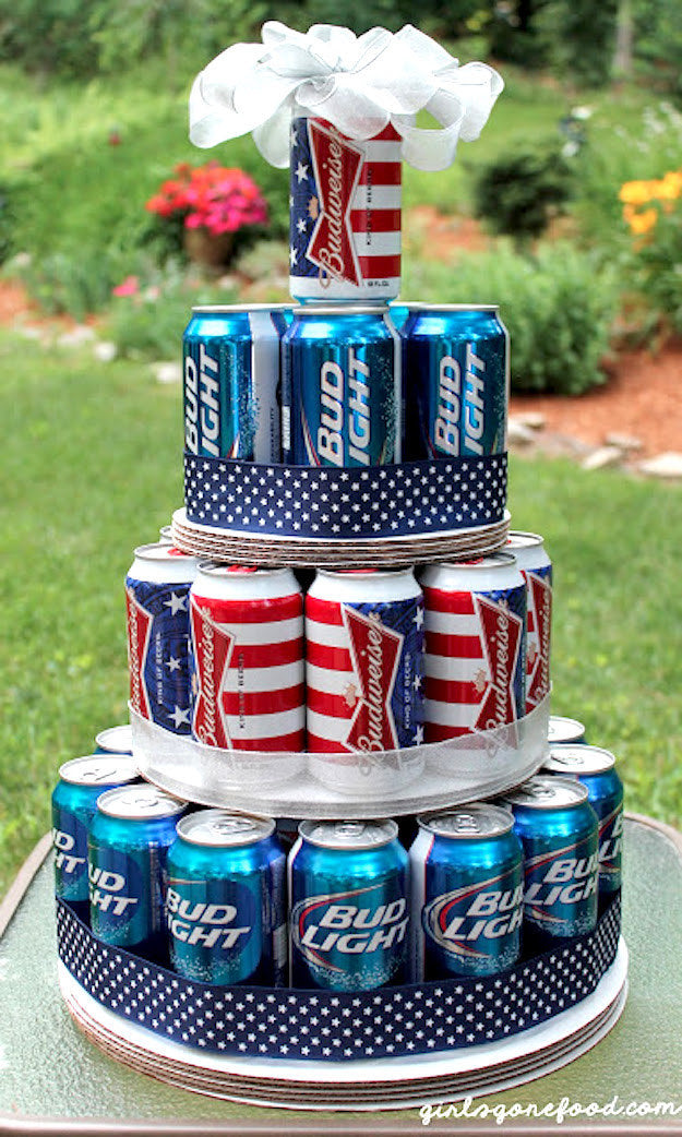 FathersDayBeerCake