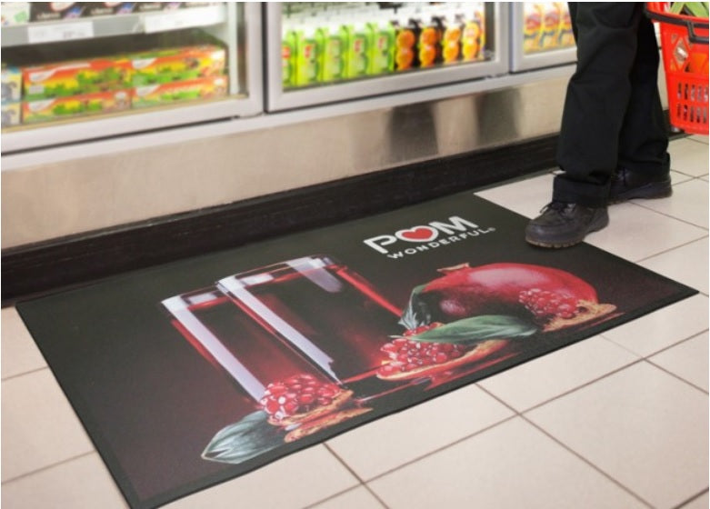 Floor Impression Custom Logo Mat
