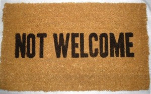 coco-mats-not-welcome