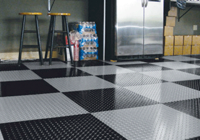 Peel and Stick Garage Flooring Tile