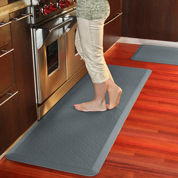 kitchen mats anti-fatigue trellis