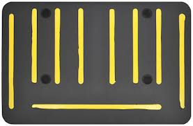 anti-fatigue mats back side