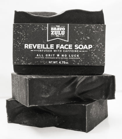 The Bravo Zulu Co. Reveille Face Soap - The Bravo Zulu Co.