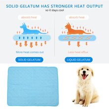 Load image into Gallery viewer, Dog Mat Cooling Summer Pad Mat For Dogs Cat Blanket Sofa Breathable Pet Dog Bed Summer Washable For Small Medium Large Dogs
