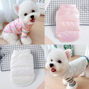 Pet Clothes For Small Dogs Waterproof Puppy Pet Jacket Winter Warm Vest Dog Coat Clothing For Chihuahua French Bulldog