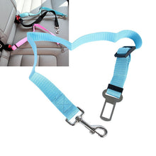 Load image into Gallery viewer, Adjustable Safety Seat Belt Nylon Pets Puppy Seat Lead Leash Dog Harness Vehicle Seatbelt Pet Dog Supplies Travel Clip