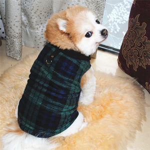Pet Dog Vest Clothing Small Dog Clothes Warm Fleece Costume Puppy Clothing For dog Coats Jackets Winter Clothes Supplies