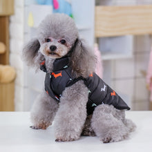 Load image into Gallery viewer, Pet Dog Down Jacket Vest Dog Clothes Autumn Winter Cotton Padded Coat For Dogs Clothes Puppy Thickened Stand Collar Down Jackets