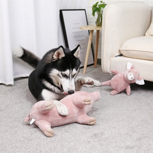 Super Soft Plush Dog Toys Durable Pet Puppies Chew Toys Cute Funny Dog Sleeping Toys