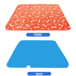 Waterproof Reusable Dog Bed Mats Dog Urine Pad Puppy Pee Fast Absorbing Pad Rug for Pet Sleep Soft Carpet Blanket