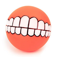 Afbeelding in Gallery-weergave laden, Funny Pets Dog Puppy Cat Ball Teeth Toy PVC Chew Sound Dogs Play Fetching Squeak Toys Pet Supplies dogs toys pets