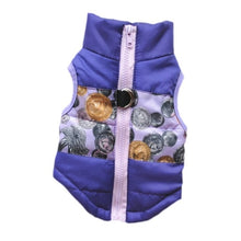 Load image into Gallery viewer, Warm Dog Coat For Small Dog Windproof Winter Pet Dog Coat Jacket Padded Clothes Puppy Outfit Vest Yorkie Chihuahua