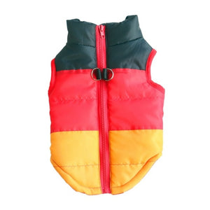 Warm Dog Coat For Small Dog Windproof Winter Pet Dog Coat Jacket Padded Clothes Puppy Outfit Vest Yorkie Chihuahua