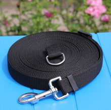 Load image into Gallery viewer, Pet Dog Lead Leash for Dogs Cats Nylon Walk Dog Leash Selected Size 1.5M 1.8M 3M 6M 10M Outdoor Security Training Dog Harness