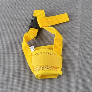 Anti Barking Dog Muzzle for Small Large Dogs Adjustable Pet Mouth Muzzles for Dogs Nylon Straps Dog Accessories