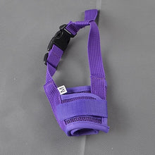 Carregar imagem no visualizador da galeria, Anti Barking Dog Muzzle for Small Large Dogs Adjustable Pet Mouth Muzzles for Dogs Nylon Straps Dog Accessories