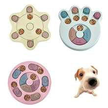 Load image into Gallery viewer, Dog Puzzle Toys Increase IQ Interactive Slow Dispensing Feeding Pet Dog Training Games Feeder For Small Medium Dog Puppy
