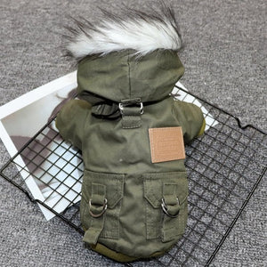 Waterproof Winter Pet Dog Jacket Coat Warm Clothes for Small Medium Dogs French Bulldog Pug Jumpsuits Puppy Chihuahua Clothing