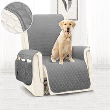 Load image into Gallery viewer, Waterproof Sofa Cover Removable Pet Dog Kid Mat Armchair Furniture Protector Washable Armrest Couch Covers Slipcovers